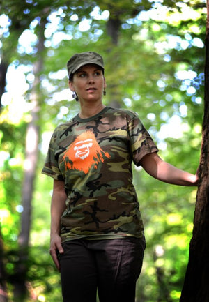 Sasquatch Bigfoot Camo Shirt