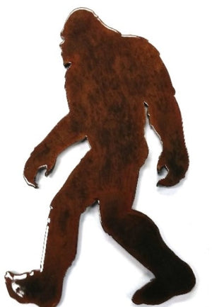 Large Bigfoot Sasquatch Metal Magnet
