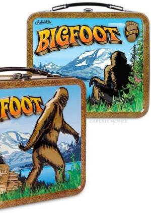 Bigfoot Sasquatch Lunchbox Lunch Box