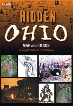 Hidden Ohio Map and Guide