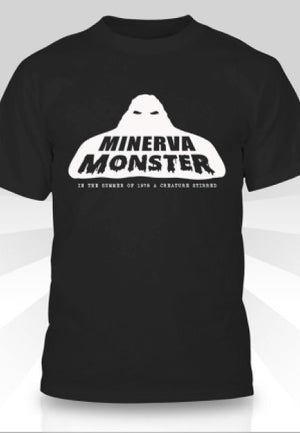 Minerva Monster Bigfoot Retro T-Shirt