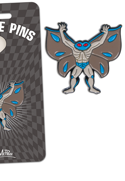 Moth Man Pin Jewlery