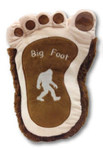 Plush Bigfoot Hairy Pillow