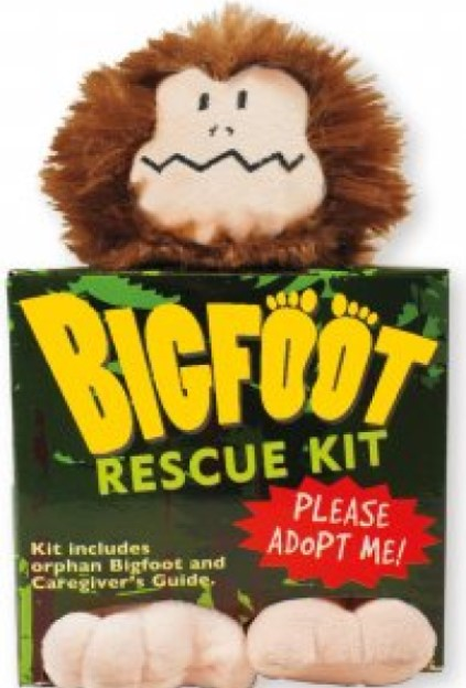 Bigfoot Rescue Kit Plush