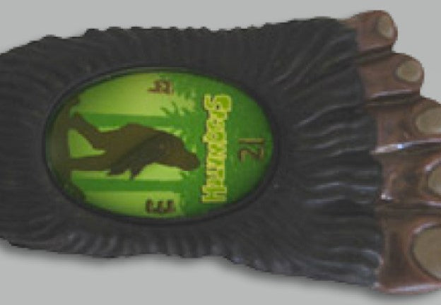 Charcoal Sasqwatch Bigfoot Watch
