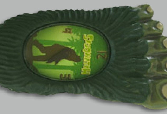 Evergreen Sasqwatch Bigfoot Watch