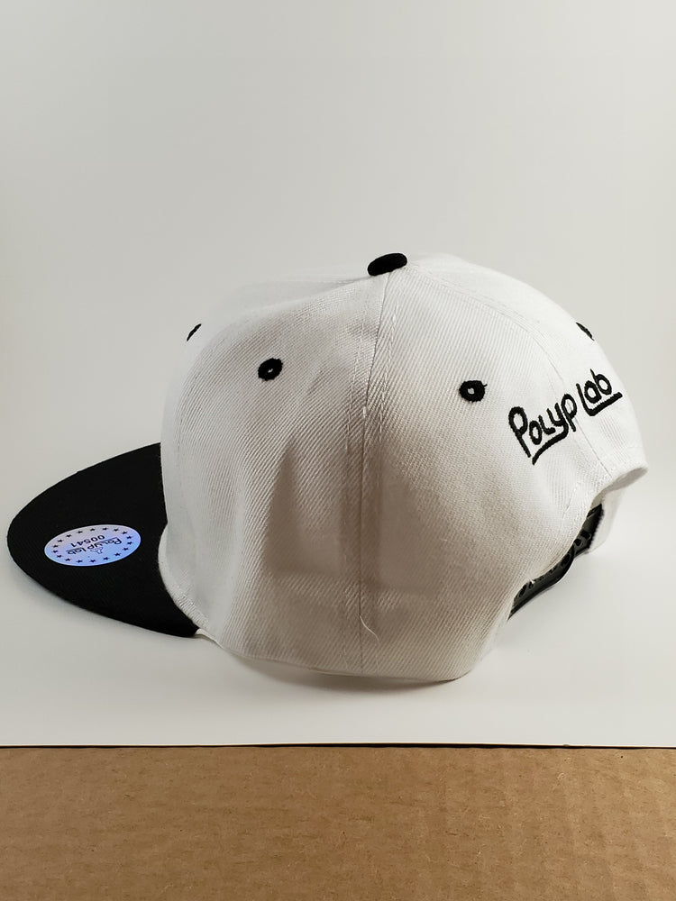 Polyplab Black and White Hat