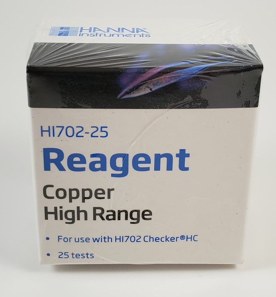HI702-25 Copper High Range Checker Reagent (25 Tests)