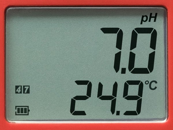 HI98107 PHEP WATERPROOF PH AND TEMPERATURE METER WITH 0.1 RESOLUTION