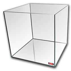 7.5 Gallon Cube Tank - Standard Glass 12 x 12 x 12