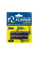 Flipper Nano Stainless Steel Replacement Blades 2 pack