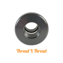 "Load image into Gallery viewer, 1/2"" Bulkhead fitting Thread X Thread"