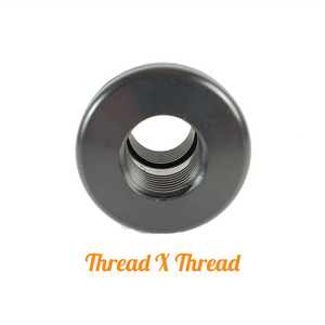 "1/2"" Bulkhead fitting Thread X Thread"