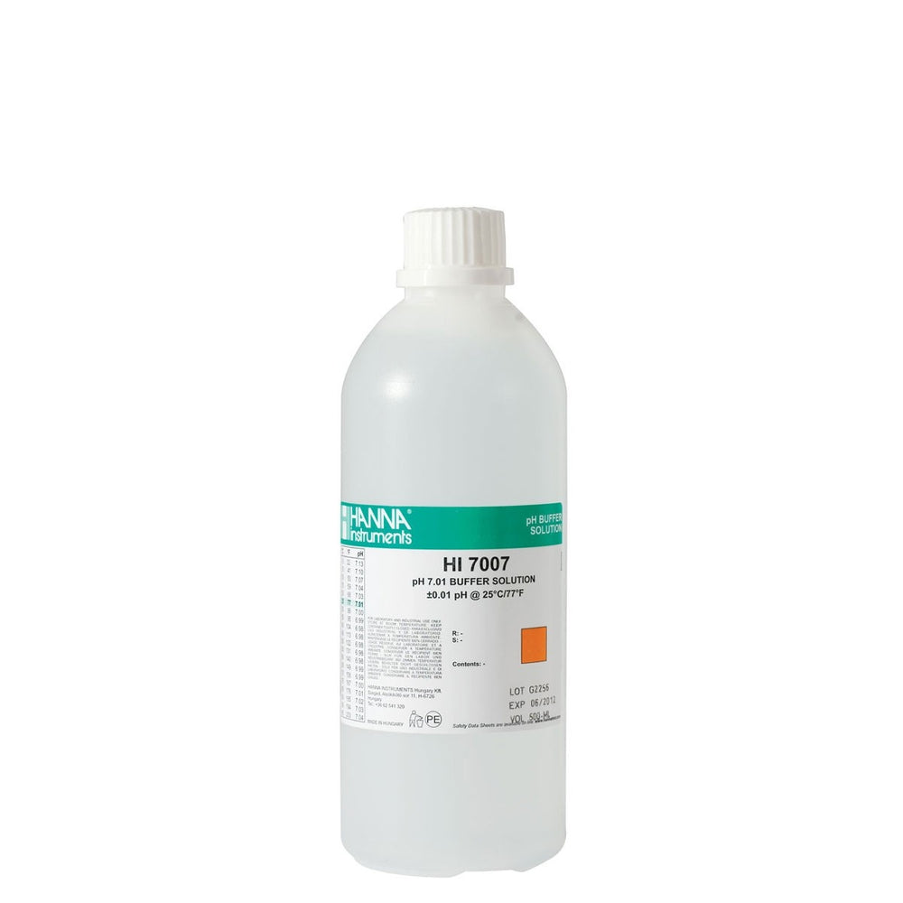 HI7007L 500ML BOTTLE PH 7.01 CALIBRATION SOLUTION