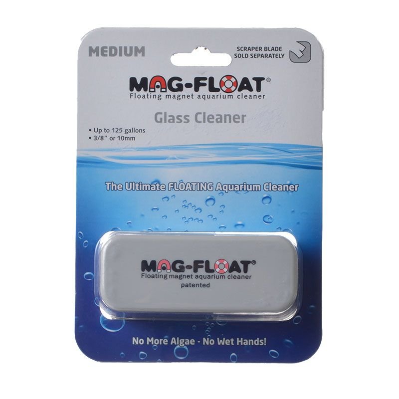 Mag-Float Magnetic Glass Cleaner Medium (Up to 125 Gallons)