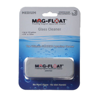 Mag Float Magnetic Glass Cleaner Medium (Up to 125 Gallons)