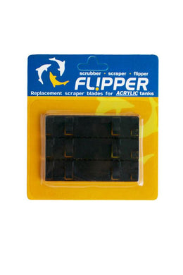Flipper Standard ABS Replacement Blades 3 pack acrylic tanks