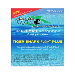 Algae Free Tiger Shark Float Plus Cleaner