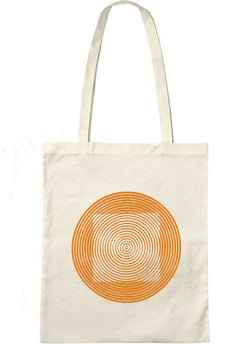 "Tote bag bio sambalou "" illusquar "" orange"