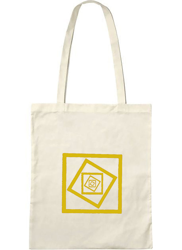 tote bag naturel puit jaune