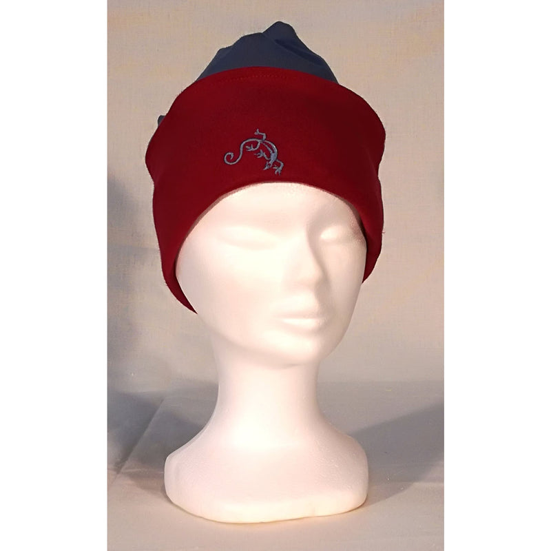 "Turban ""Bleu Rouge"""