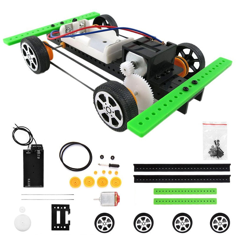 Mini Coche Armable (Rompecabezas educativo)