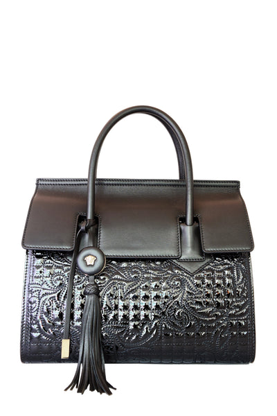 Versace Vanitas Quilted Leather Handbag