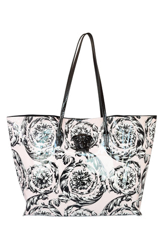 Versace Palazzo Patent Leather Tote