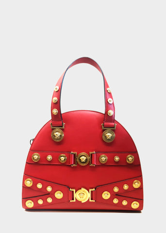 Versace Tribute Medallion Handbag