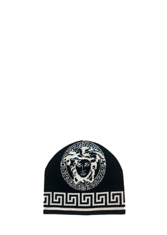 Versace Wool Knit Hat