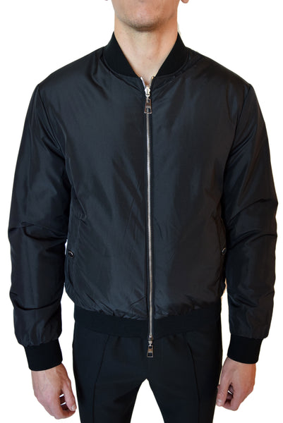 Versace Collection Reversible Bomber Jacket