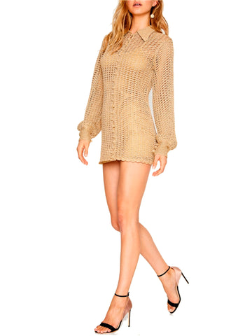 Alice McCall Crochet Mini Dress