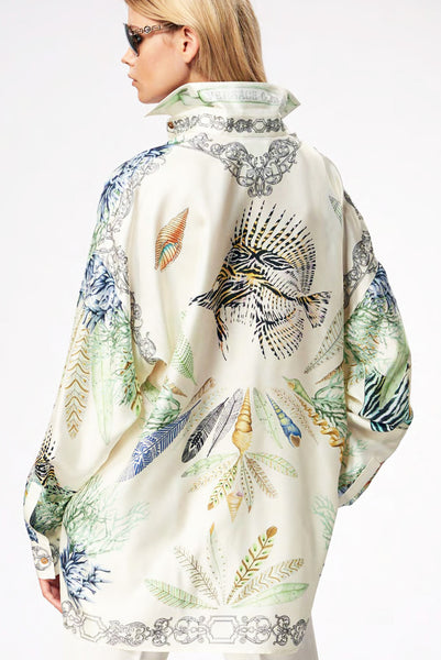 Versace Collection Silk Blouse