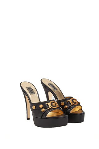 Versace Tribute Leather Mules
