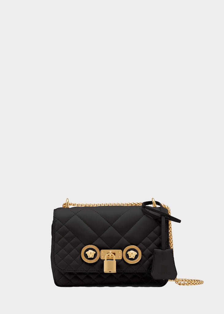 Versace Small Quilted Icon Shoulder Bag  189eb024ef658