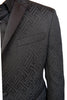 Versace Collection Quilted Tuxedo Blazer