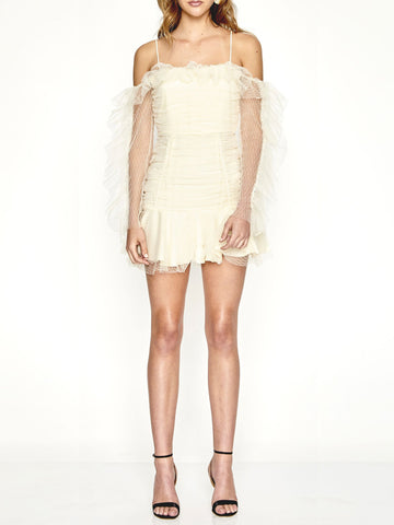 Alice McCall Ruched Mini Dress