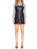 Alice McCall Leather Mini Dress