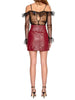 Alice McCall Leather Mini Skirt