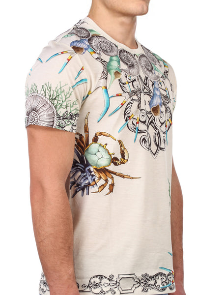 Versace Collection 'Seashells & Crabs' T-shirt