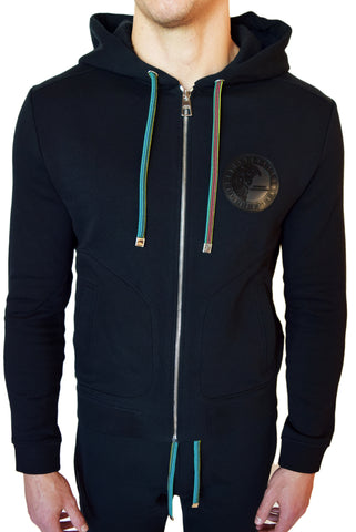 Versace Collection Cotton Fleece Hoodie