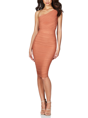 Inspire One-shoulder Midi