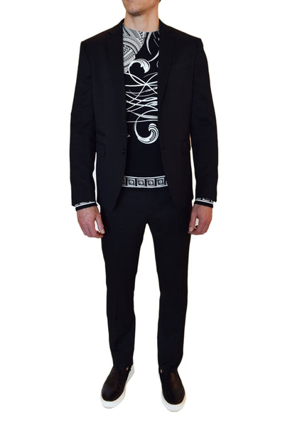 Versace Collection Textured Suit