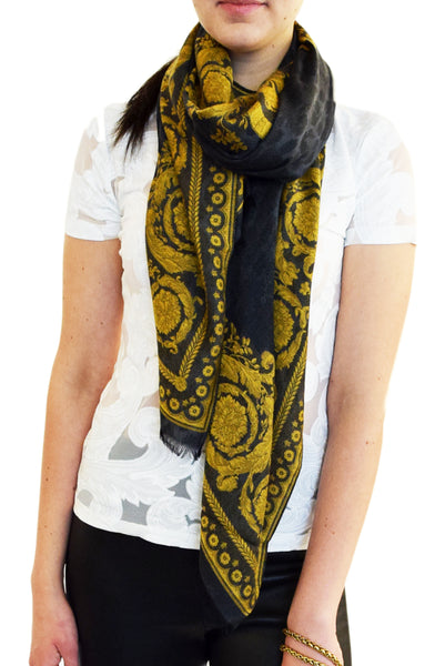 Versace Animal Baroque Stole
