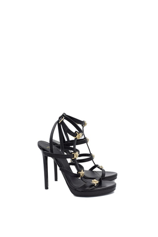 Versace Signature Medusa High Heel Sandals