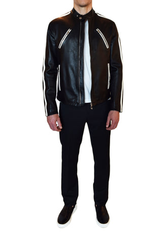 Versace Collection Leather Jacket
