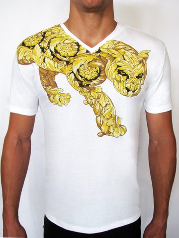 Versace Collection Tiger T-shirt