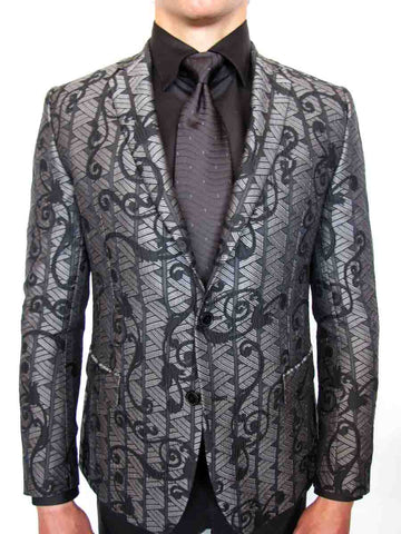 Versace Collection Baroque Jacquard Jacket
