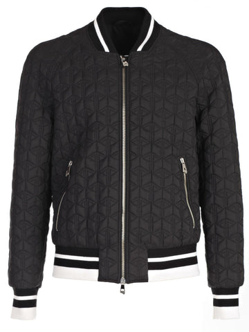 Versace Collection Geo Quilt Bomber