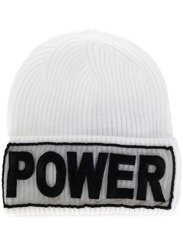 Versace Power Manifesto Knit Hat